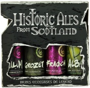Historic Ales from Scotland gift pack (4*0,33)