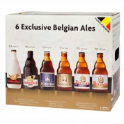 6 Exclusive Belgian Ales gift pack (6*0,33)