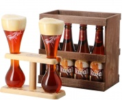 Pauwel Kwak gift pack (4*0,33 wooden box)